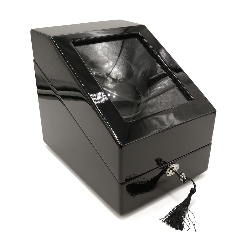 black-satin-2-slot-automatic-watch-winder-w-3-slots-1