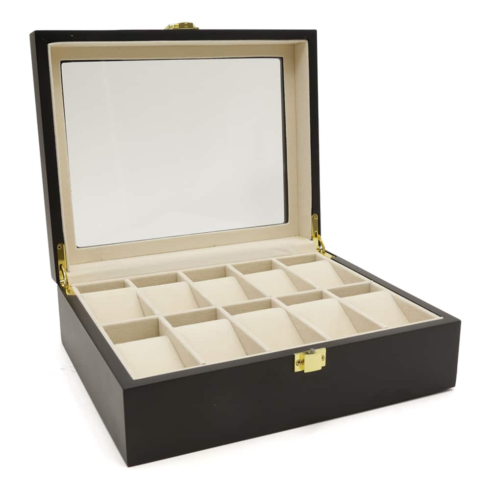 black-wooden-10-slot-watch-box-2