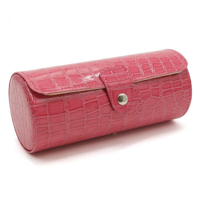 pink-alligator-3-slot-watch-roll-1