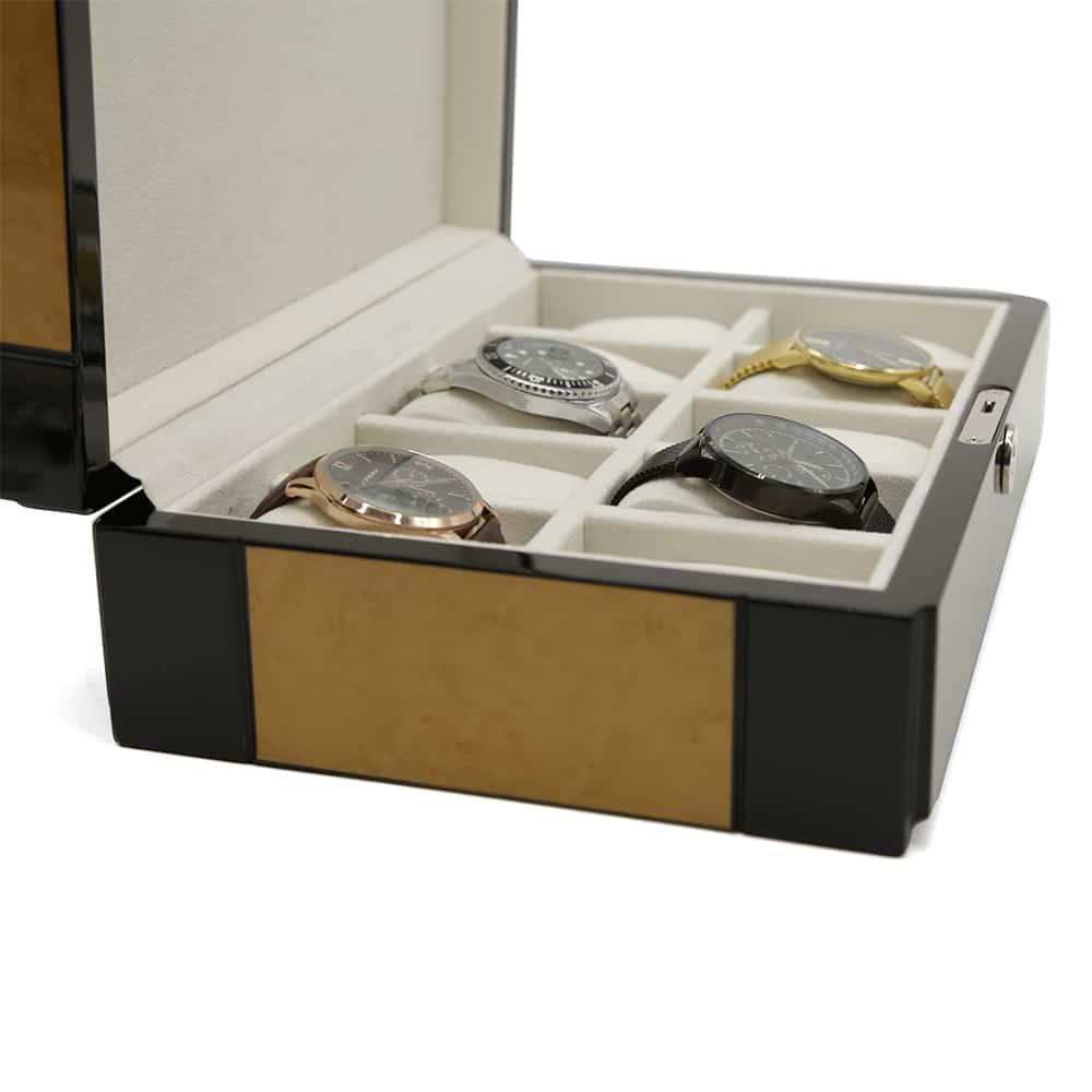 premium-brown-stripped-10-slot-watch-box-3