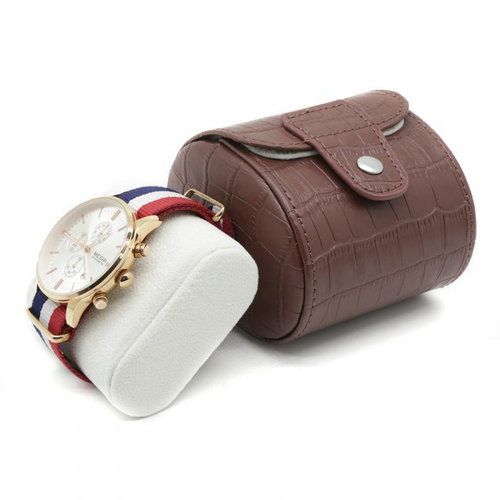 mahogany-crocodile-single-travel-watch-case-3