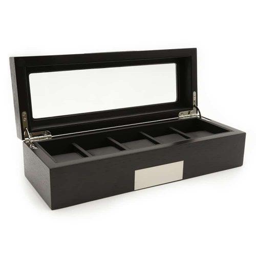 platinum-black-5-slot-watch-box-2