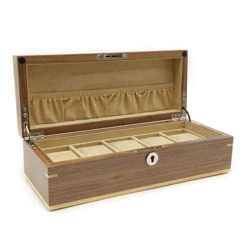 handmade-walnut-5-slot-watch-box-2