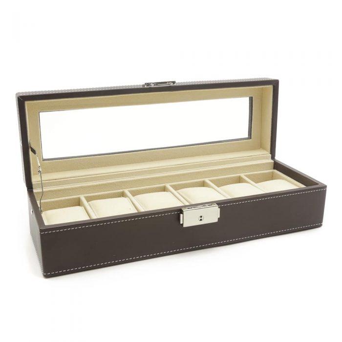 luxury-dark-brown-6-slot-watch-box-2