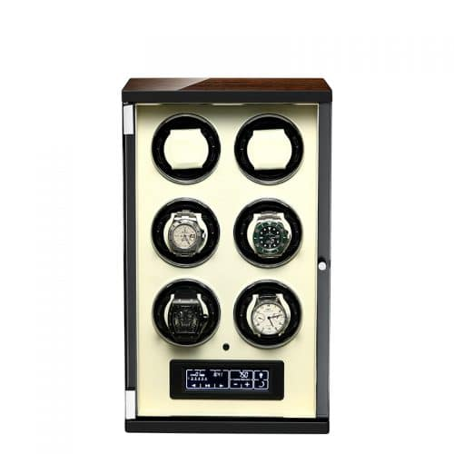 Classic 6-Slot Automatic Watch Winder-1