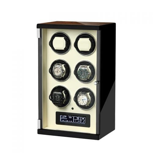 Classic 6-Slot Automatic Watch Winder-2