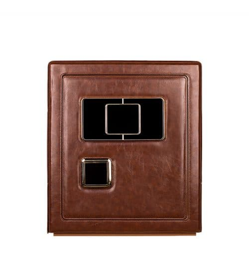 Brown Heavy Duty 6-Slot Automatic Watch Safe-1