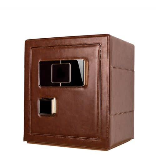 Brown Heavy Duty 6-Slot Automatic Watch Safe-2