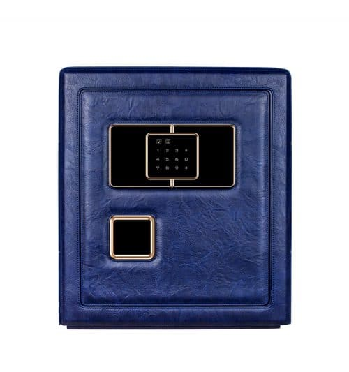 Blue Heavy Duty 6- Slot Automatic Watch Safe-1
