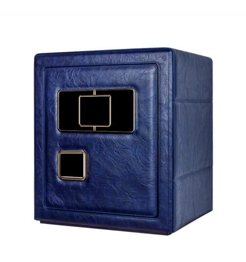 Blue Heavy Duty 6- Slot Automatic Watch Safe-2
