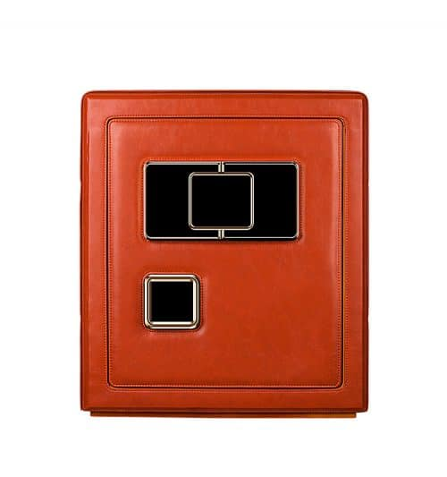 Red Heavy Duty 6- Slot Automatic Watch Safe-