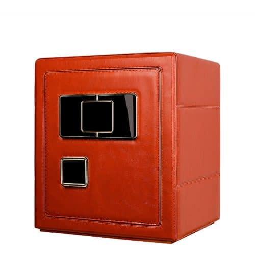 Red Heavy Duty 6- Slot Automatic Watch Safe-2