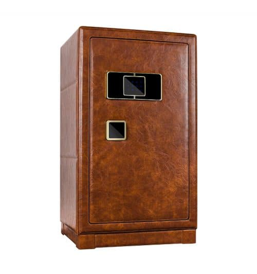 Brown Heavy Duty 12-Slot Automatic Watch Winder Safe-3